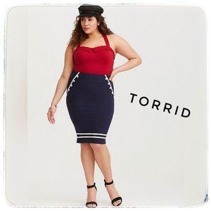 COPY - NWT TORRID Retro Chic Red Sweetheart Tank,…